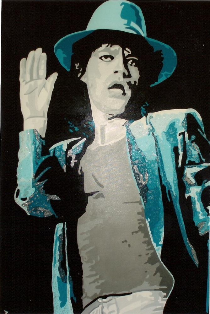 Mick Jagger par @do